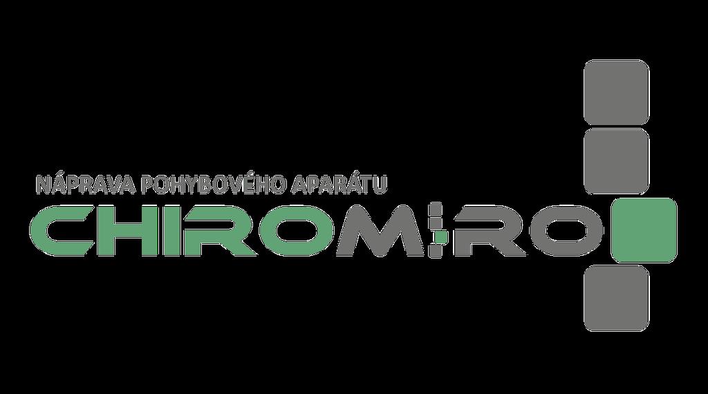 ChiroMiro - Chiropraxe, náprava pohybového aparátu - Miroslav Kliment - logo